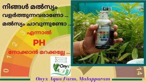 How to test and control PH of water in Fish farming | PHഎന്താണ് |Kerala Fish Farming Malayalam 2020