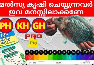 PH GH and KH of water in Fish Farming
